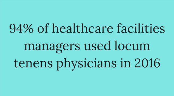 healthcare managers use temporary doctors