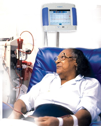 hemodialysis woman
