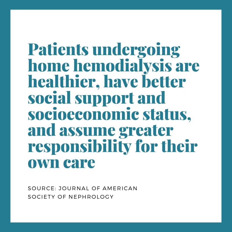 hhd patients are healthier