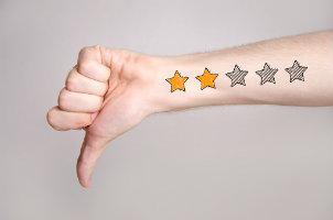 negative patient reviews