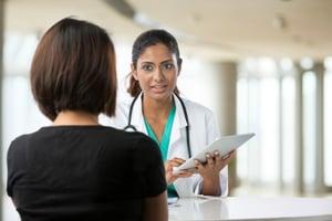 physician listening